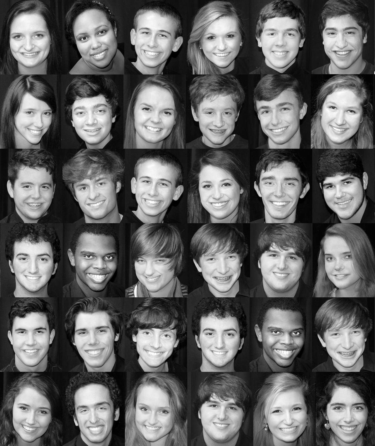 GRAPHICS: Theatre/Choir Design Work & Headshots -