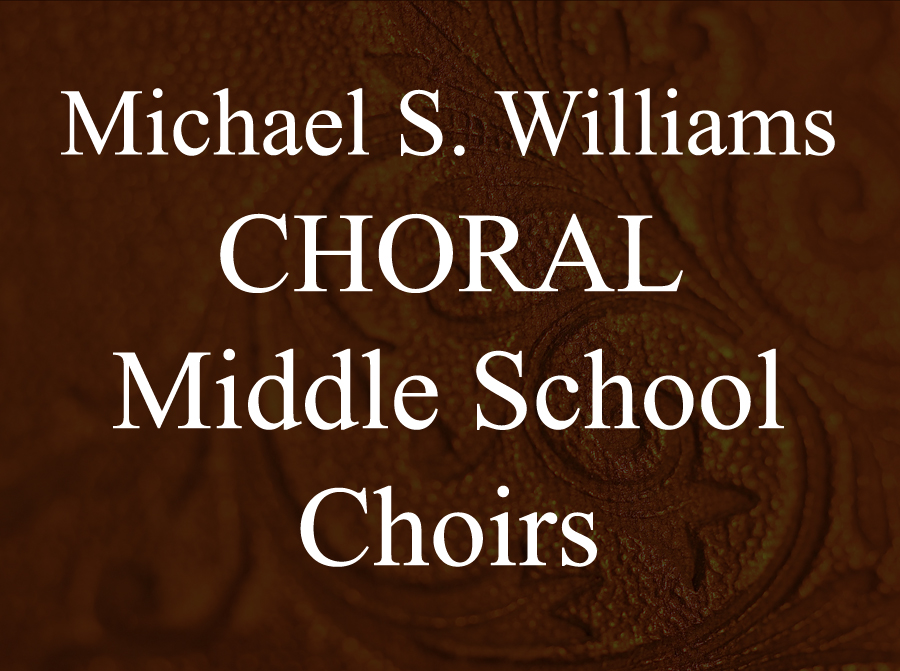 CHORAL: Junior High Choirs -