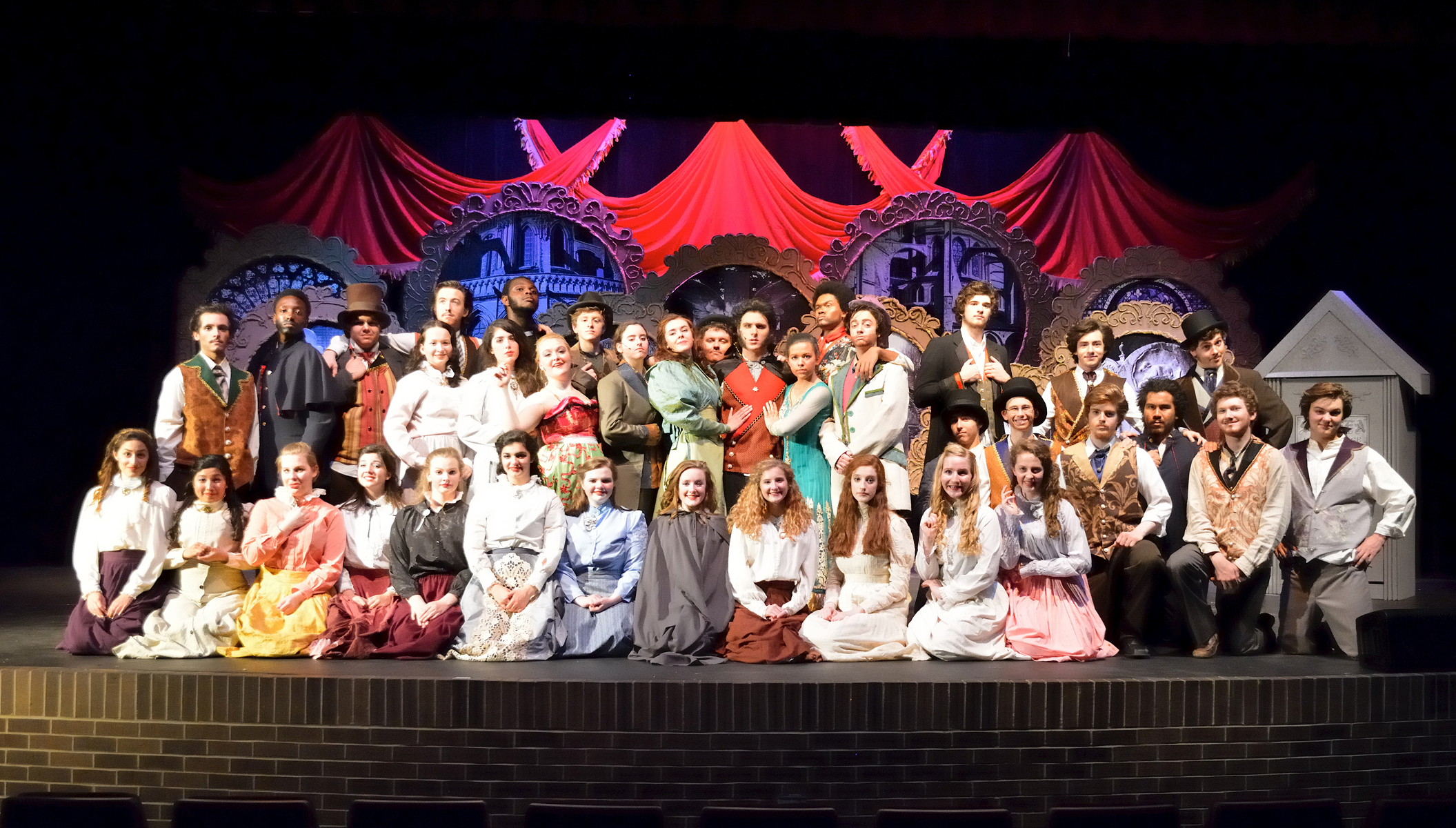 THEATRE: Costuming & Makeup -