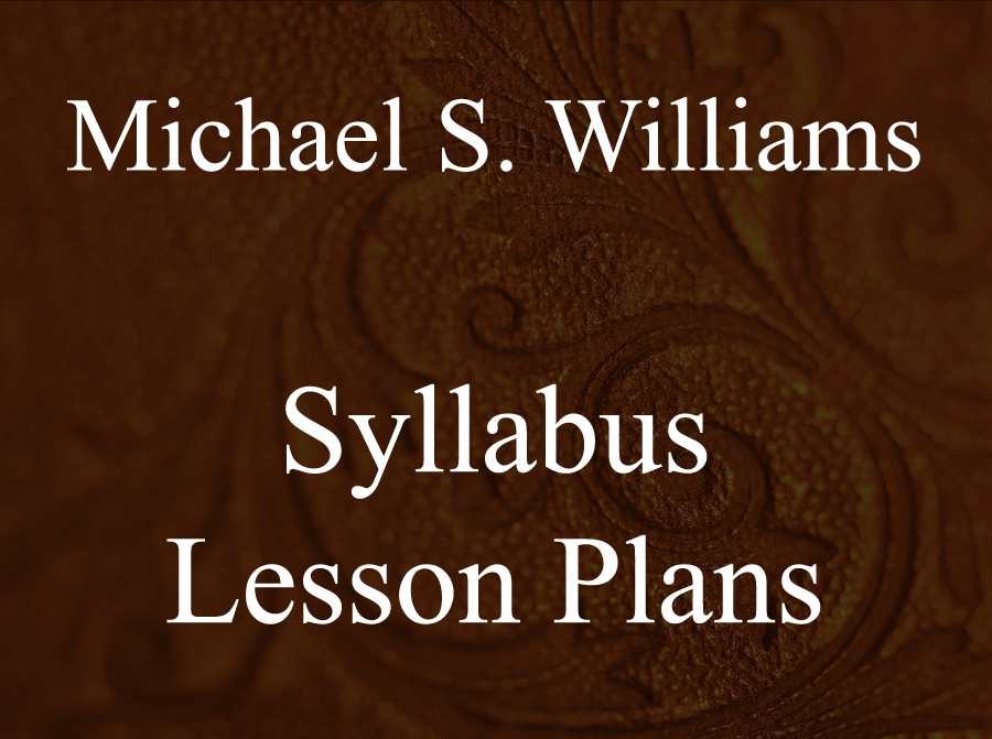 SYLLABUS / LESSON PLAN -